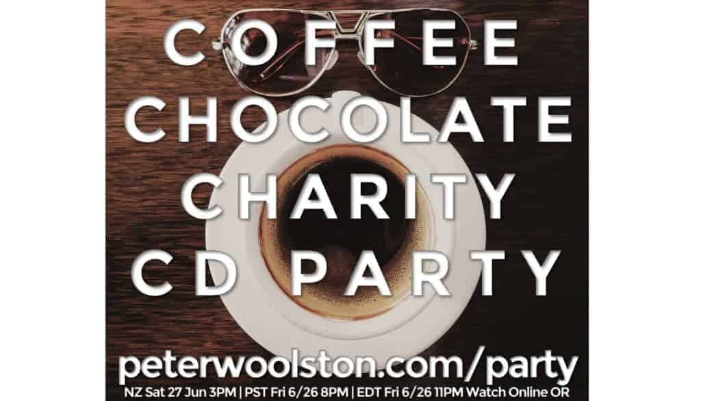 'Coffee Chocolate Charity CD Party' Release of 'Hope On My Horizon' CD